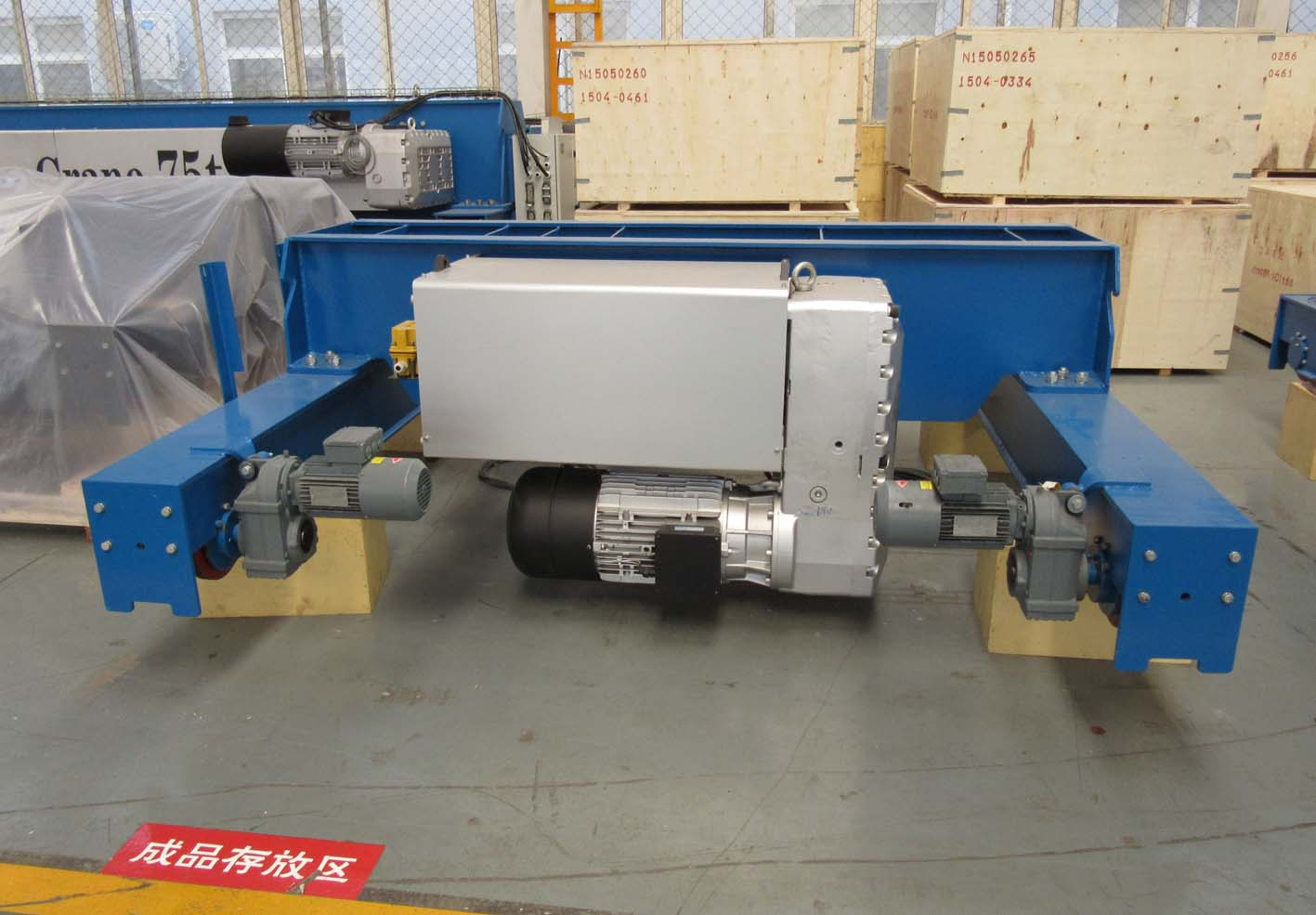 Double Hook Trolley for Double Girder Overhead Cranes