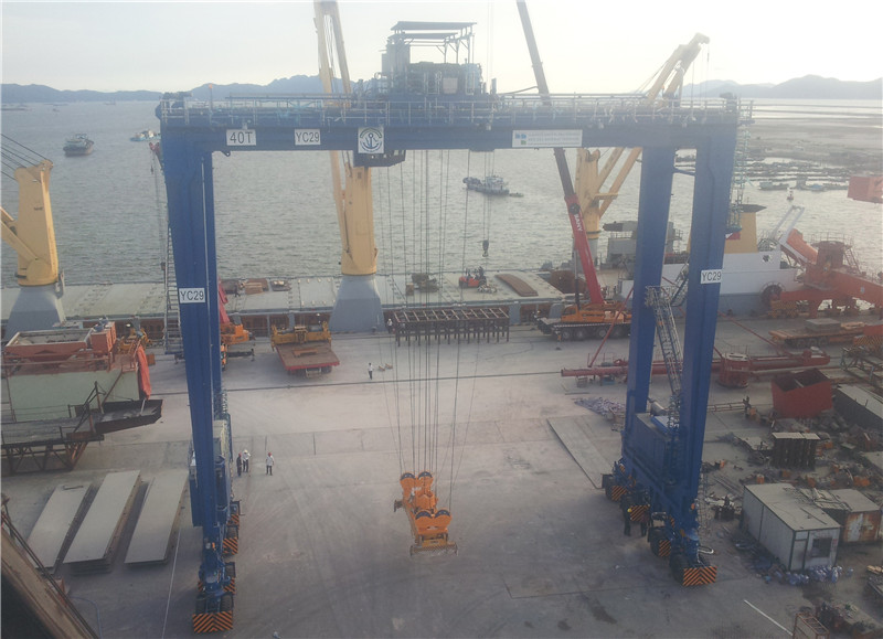 rubber tired gantry cranes