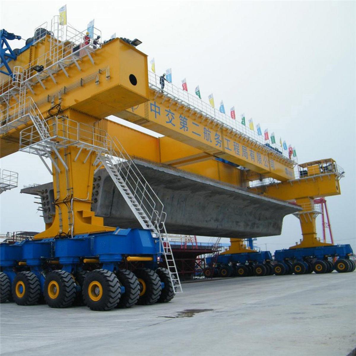 Rubber Tyred Gantry Cranes Translate : Rubber tyred gantry crane ton container loading