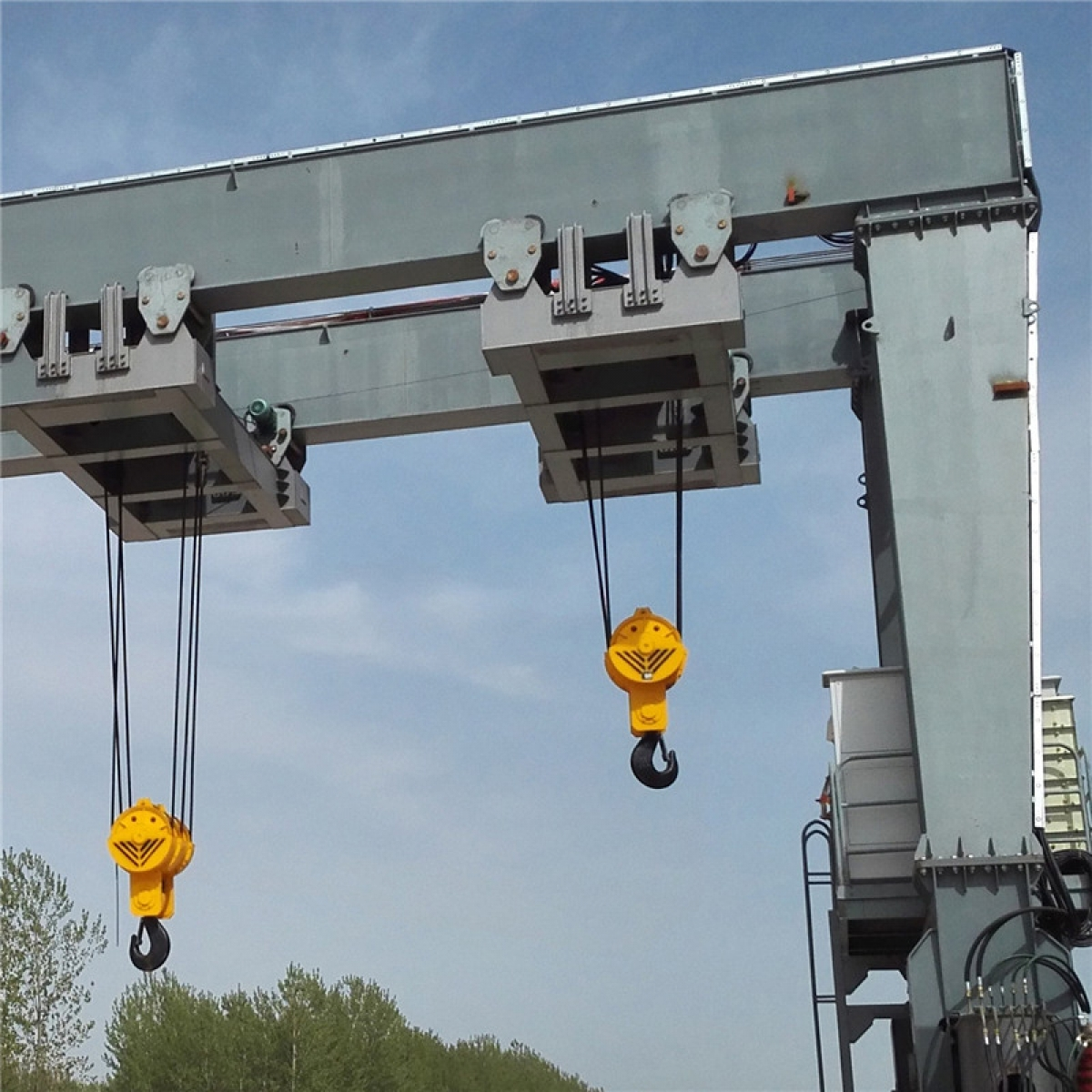 Rubber Tyred Gantry Crane: 30-1200Ton Container Loading